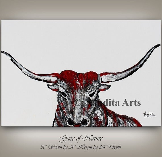 Bull Skull Wall Decor animal bull painting bull skull wall decor animal painting