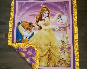 The Beauty and the Beast Minky Blanket