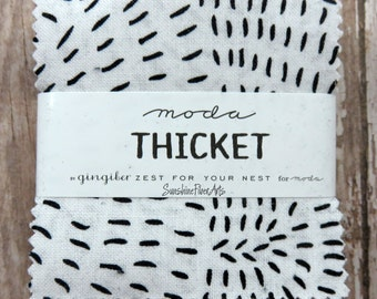 "Thicket - Gingiber - Stacie Bloomfield - Moda - 42 Pieces - 2 1/2"" Squares - Mini Charm Pack - 48200MC"