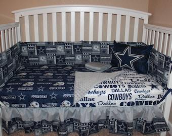 Dallas Cowboys 5 Piece Crib Bedding Set