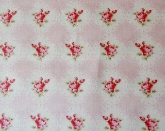 Shabby Chic Tanya Whelan Cameo Rose in Pink Fabric by the Yard