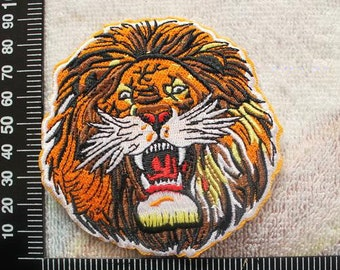 Lion Embroidered Patch Lions Roar Iron on Applique CD149