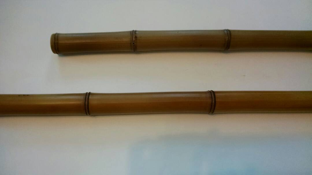 Curtain Rod Huangwenshu Bamboo Fire Stained Very Rare Species