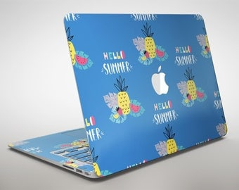 Hello Summer Love v1 - Apple MacBook Air or Pro Skin Decal Kit (All Versions Available)