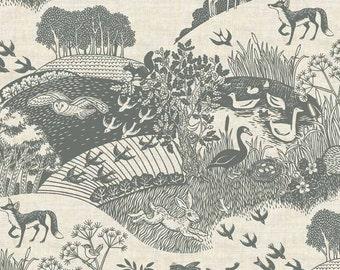 Landscape Fabric Etsy