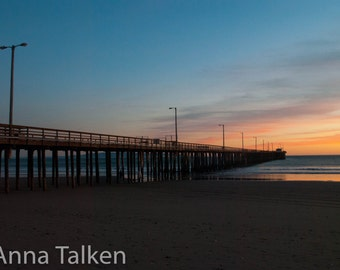 Avila Beach Sunset Photograph