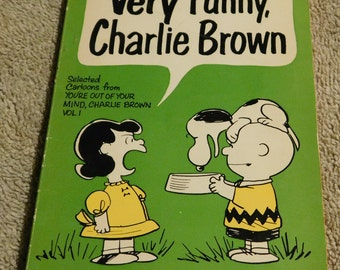 Very Funny Charlie Brown by Charles M. Schulz