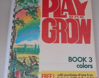 Play and Grow Book 3 Colors