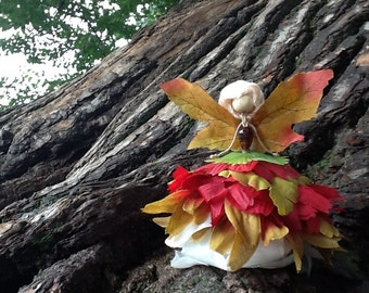 autumn Fairy Doll, bendy doll