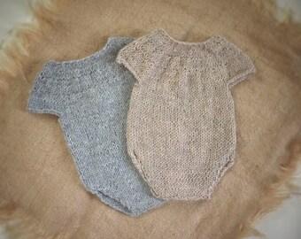 knit romper onsie