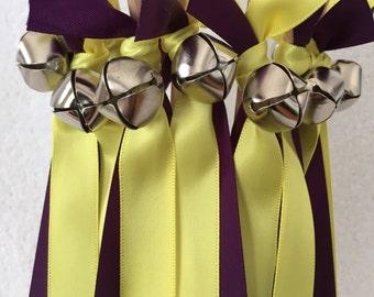 50 Wedding Wands/Wedding Ribbon Wands/Wedding Wand/Lemon Butter/Wedding Streamers