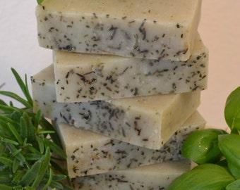 Rosemary Basil Soap
