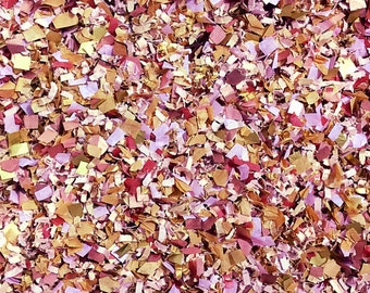 Confetti Biodegradable Dusty Pink Rose Gold Copper Lilac Wedding Party Bridal Shower