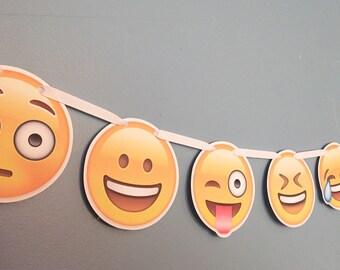 Emoji Party Banner