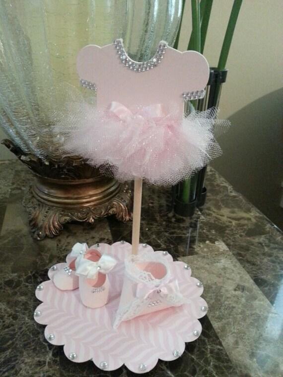 onesie tutu cake topper tutu baby shower princess cake topper