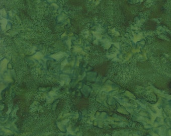 Medium Green Java Batik Fabric