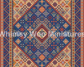 Dollhouse Rugs Tapestries Amp Needlepoint By Whimsywoominiatures