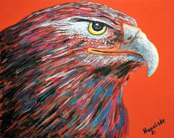 """Fine Art Print  """"Abstract Eagle""""   Print by Napolske Art Painting"""