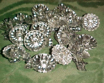 Group of 20 vintage clip on Candleholders