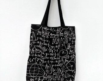 Math Formula Tote Bag