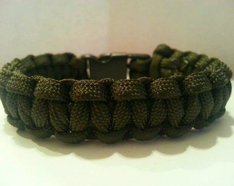 Small OD Green Paracord Bracelet