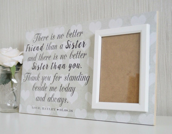 Best Wedding Gift Ideas For Best Friend: Personalized Gift For Sister