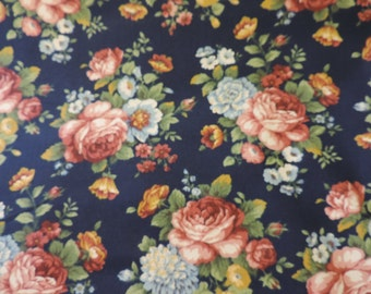 "1 printed pet bed cover Dog Duvet fits 1 standard sz pillow (19x25"")   Rose Blue Flower print"