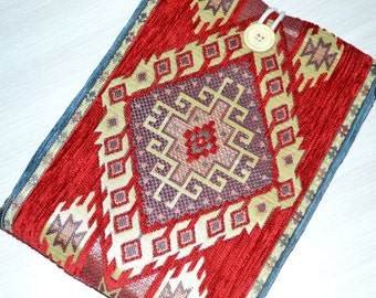Kindle Sleeve kindle paperwhite Case, kindle fire case, nook Sleeve, gadget cases and covers, kindle fire sleeves in kilim