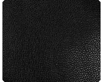 Thin 0.6mm Black Leatherette Sheet  A4  8X11 or A5 Size Black Faux Leather Fabric Black PU Leather Perfect for Button Earrings Jewellery