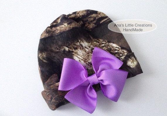 Custom Mossy Oak Break-Up Country Newborn Hat, Newborn Beanie, Take Home Hat, Hospital Hat, Custom Camo Newborn Hat, Mossy Oak Baby Hat
