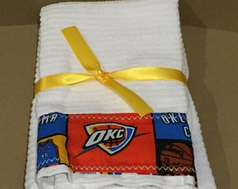 Oklahoma City Thunder Hand Towels