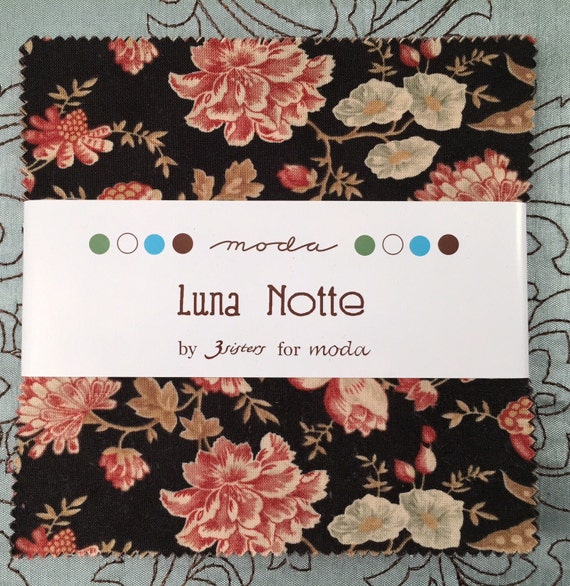 Luna Notte by 3 Sisters for Moda Fabrics Charm Pack