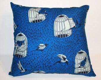 Caged Bird Pillow