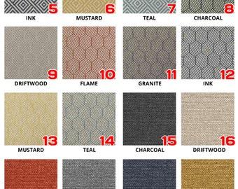 Bromley Jacquard Cushion Covers. You Choose