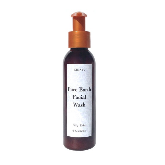 Clay Face Wash for Oily Skin, Oily Skin Facial Cleanser, Acne Control Face Wash, PURE EARTH Facial Wash