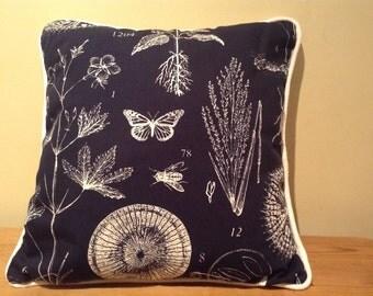 Botanical Bug Cushion