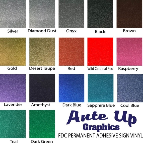 Glitter Adhesive Vinyl 5 12x12 Quot Sheets Oracal 651 Oracal