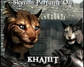 KHAJIIT Skyrim Perfume Oil Inspired by the Game