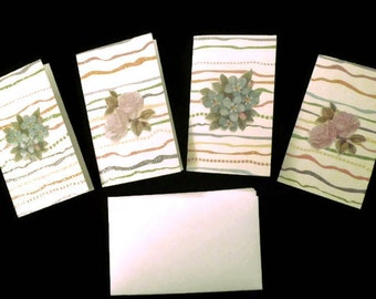 Gift Cards - set of 4 with white self- sealing envelopes.