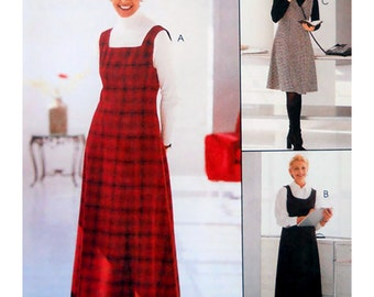 McCall's Sewing Pattern 9512 Misses' Jumper in two lengths  Size:  AX  4-6-8  Used