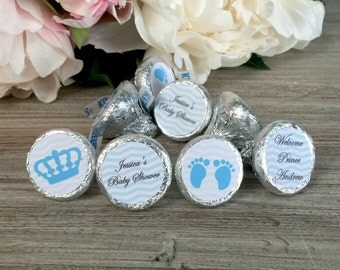 Little Prince hershey kisses labels, Little Prince baby shower, Hershey kiss stickers, hershey kisses personalized labels, Envelope Seals
