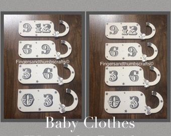 Baby Clothes Wardrobe Dividers