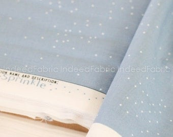 Sprinkle Anna Blue- Basics Collection, Cotton + Steel, Quilting Weight Cotton