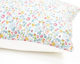 Pair Liberty Print Pillow Cases- Betsy