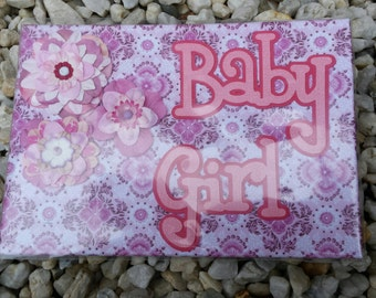 Baby brag photo album book