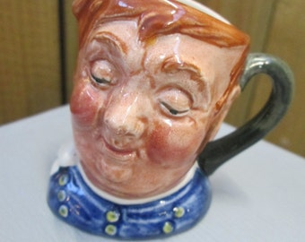 Toby jug - Royal Doulton character jug - miniature 'Fat Boy'