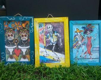 Day of the Dead Dia De Los Muertos Sugar Skull Print