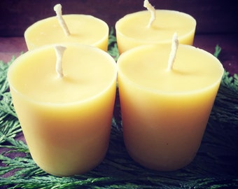100% beeswax candle • votive candle • no additives • natural air purifier • natural hepa filter • magick • ritual • candle magick • hoodoo •