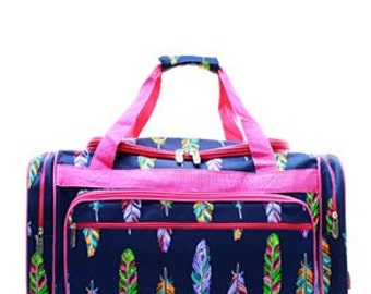 """20"""" Feather Duffel Bag WITH FREE MONOGRAM"""