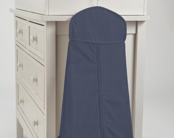 Carousel Designs Solid Navy Diaper Stacker